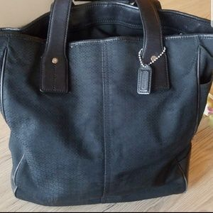 Large Coach tote (laptop)